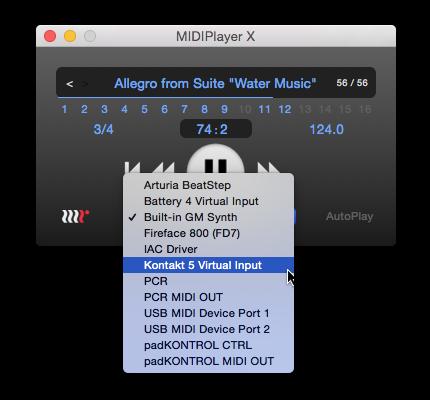 MIDIPlayer X | MethodRed
